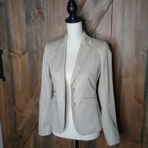 NY&Co. NWT Cream 2 Button Fitted Blazer Sz 0